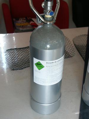 Apport d'Oxygene et de Dioxyde de carbone dans bacs à Discus