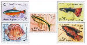 Timbres sur les poissons